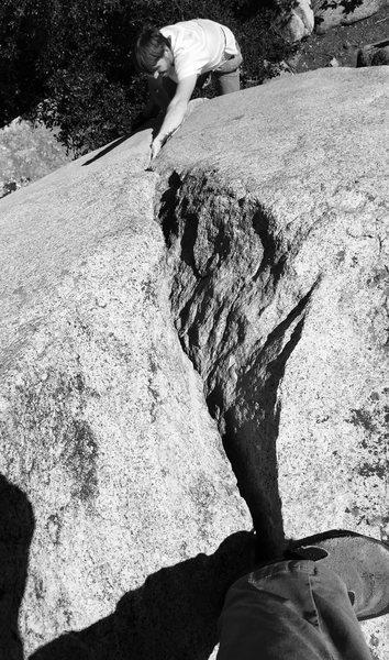 Rock Climbing Photo: #dontspotmebro