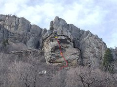 Rock Climbing Photo: Facerock from the Pipeline trail. Hummingbird in R...