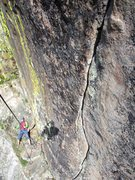 Rock Climbing Photo: Another view of the crack system of ROTC while low...