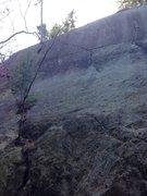 Rock Climbing Photo: Right on