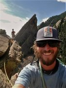 Rock Climbing Photo: 3 Flatirons...1 day