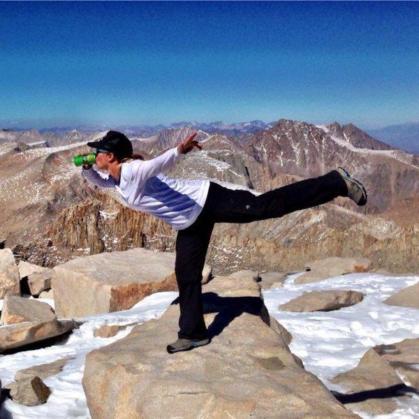 Rock Climbing Photo: A Sierra on top of the Sierras