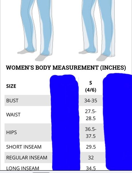 Size chart Columbia.com