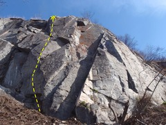 Rock Climbing Photo: Panorama Point after being developed in 2015.
