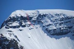 Rock Climbing Photo: Var in red