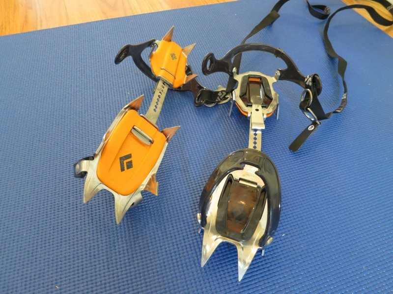 Black Diamond Contact crampon - excellent condition - $110