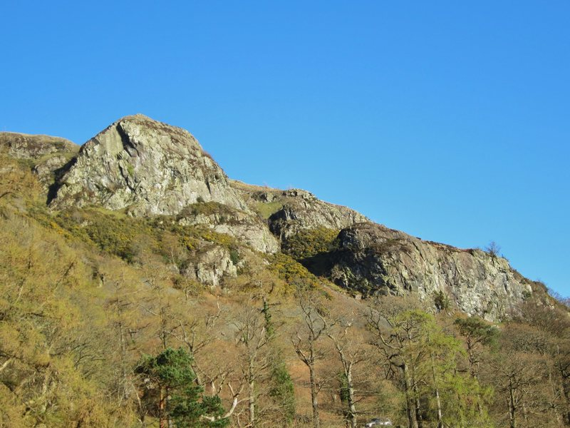 Upper and Lower Falcon Crags