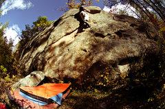 Rock Climbing Photo: Taking it too easy.