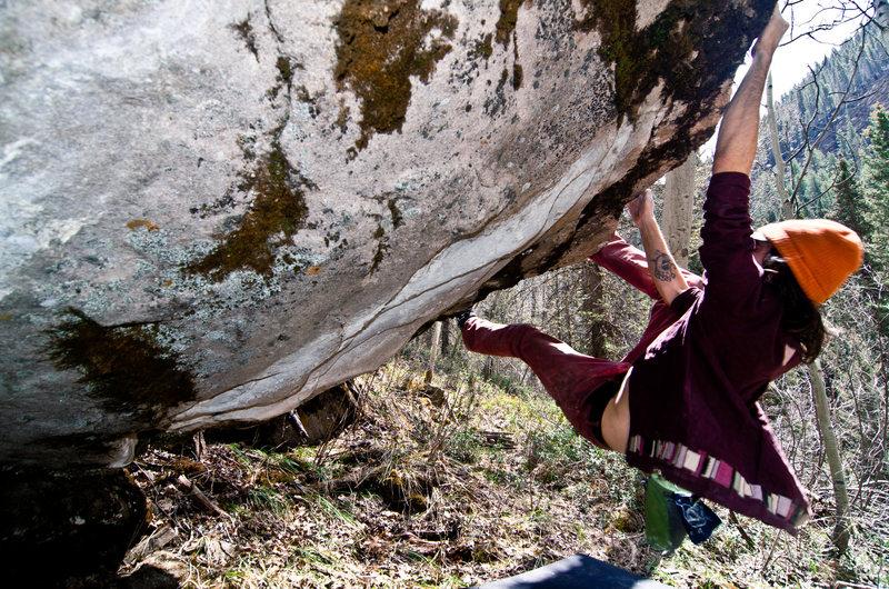 Rock Climbing Photo: fox hole
