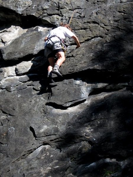Rock Climbing Photo: Fun big features in the middle of Gipeto
