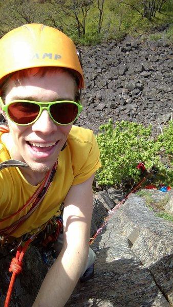 Rock Climbing Photo: Pro all day.