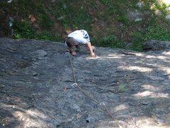 Rock Climbing Photo: Getting started on Bongo.