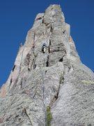 Rock Climbing Photo: Wolfs Head, the start.