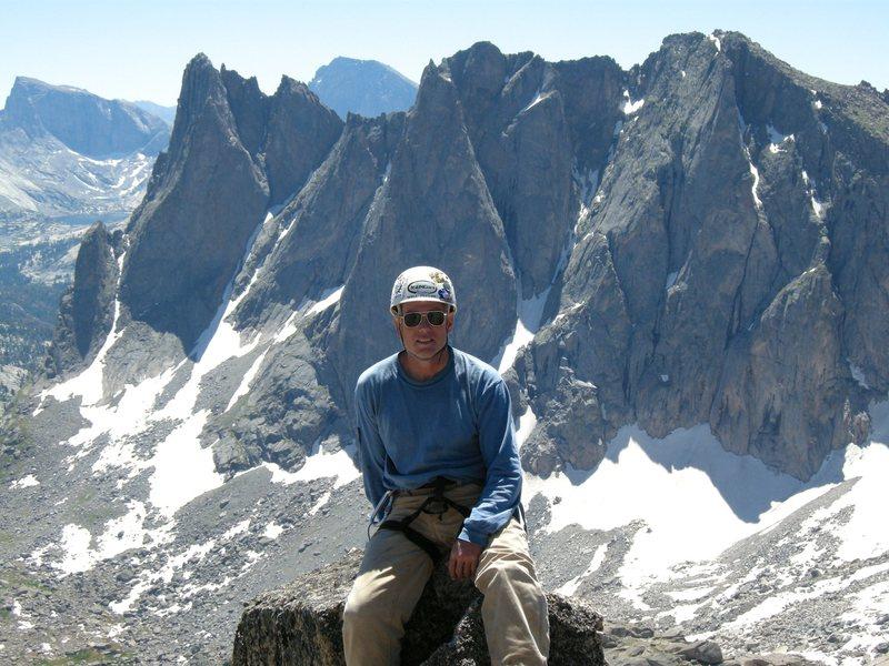Rock Climbing Photo: Summit of Pingora.