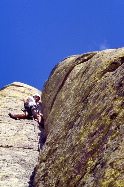 Rock Climbing Photo: At Devils Tower.