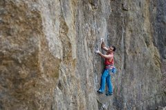 Rock Climbing Photo: Sepehr on route