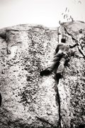 Rock Climbing Photo: Sleeper trail side Classic!!