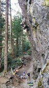 Rock Climbing Photo: Sean leads Culture Shock