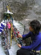 Rock Climbing Photo: selecting the right hook can be an arduous process