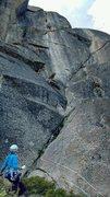 Rock Climbing Photo: Such a good line