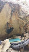 Rock Climbing Photo: The heelhook.