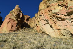 Rock Climbing Photo: The left side of The Marsupial Wall and The Philos...