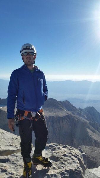 Summit of Mt Whitney
