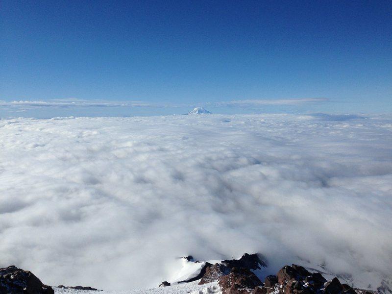 Rock Climbing Photo: Mt Rainer Kautz Route at 12000ft