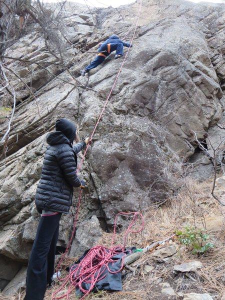 Rock Climbing Photo: Climbing ZMBM