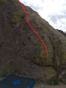 Rock Climbing Photo: Great problem