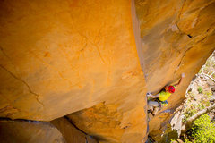 Rock Climbing Photo: Entering the first crux... Photo credit dankraussp...