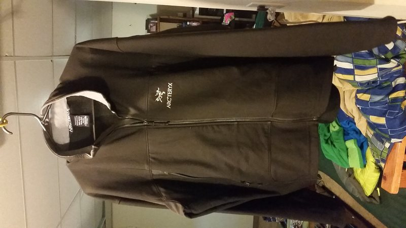 Arc'teryx mens softshell polartec insulated jacket. Mens XL. Stretchy and waterproof! <br> $65