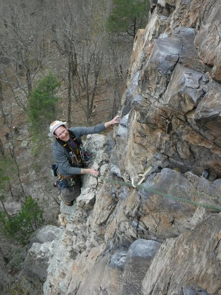 Rock Climbing Photo: Ecstasy, Seneca Rocks, WV.