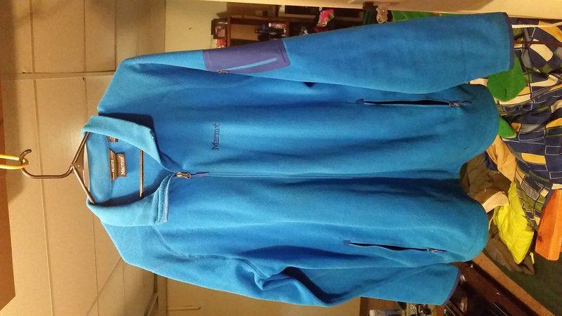 Marmot Polartec fleece, mens XL, only worn twice. $40