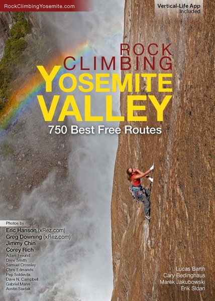 New Yosemite Free Climbing Book!