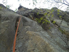 Rock Climbing Photo: Here's a photo nearing the top