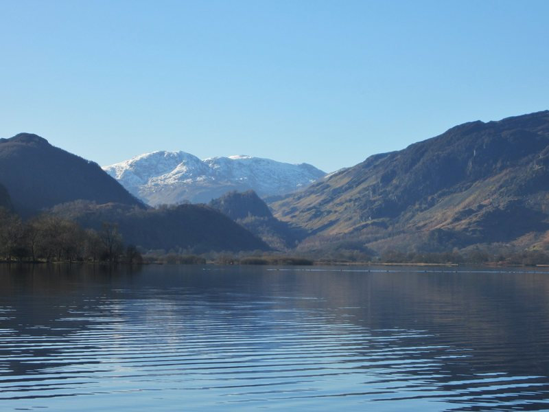 Head of Borrowdale Valley ... Lake District..