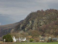 Rock Climbing Photo: Shepherds Crag .. Borrowdale Valley . Very popular...