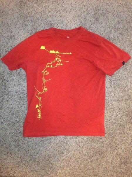 Rock Climbing Photo: Arcteryx shirt