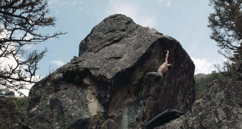 Rock Climbing Photo: Supernova.