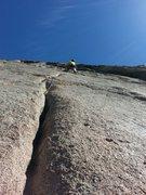 Rock Climbing Photo: East Slab.