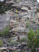 Rock Climbing Photo: Gneiss Jugs topo