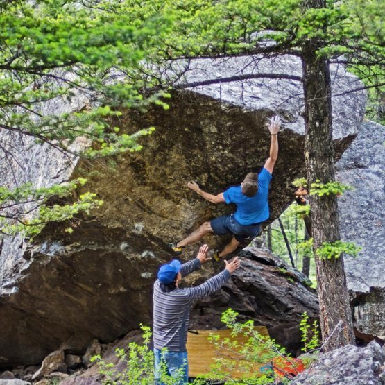 Rock Climbing Photo: Mrs.Leslie.