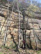 Rock Climbing Photo: Rocket Man