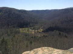 Rock Climbing Photo: From the very top of Close Encounters with a Wench...
