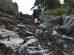 Rock Climbing Photo: early stuff