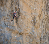 Rock Climbing Photo: Anne Brookes on Nostalgia, 5.11c