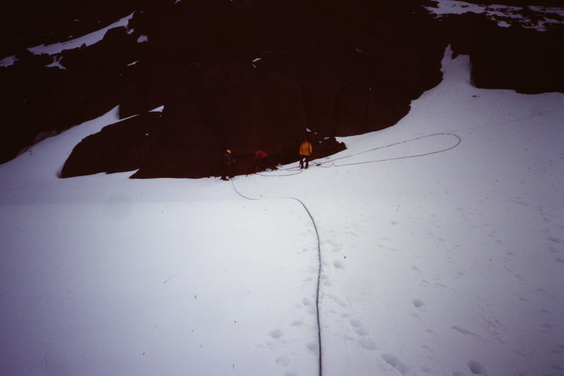 Rock Climbing Photo: [Photo 2 ] In the Adamant-Turret Col