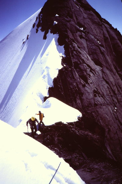 Rock Climbing Photo: [Photo 6 ] Just beyond the Turret - Austerity Col ...