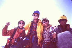 Rock Climbing Photo: [Photo 9] Our group on the summit of Austerity [L&...